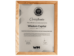 Certificate from AMITY to Wisdom Capital