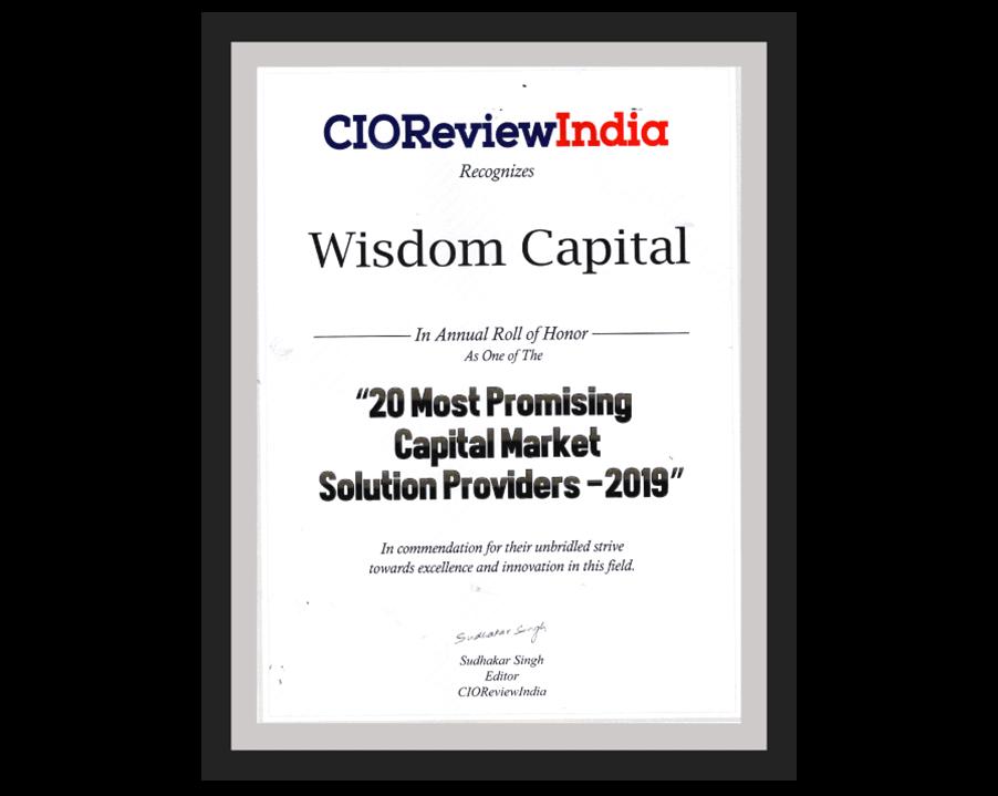 CIO review India Wisdom Capital